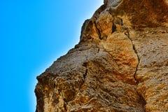 Yellow rock Stock Photo