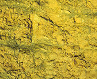 Yellow Rock Texture Royalty Free Stock Photo