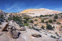 Yellow Rock Stock Image