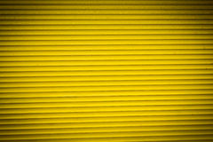 Yellow rolling shutter for backgrounds Stock Image