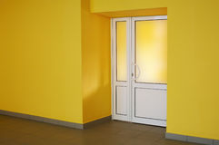 Yellow room Stock Photography