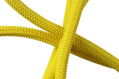 Yellow rope Stock Photography