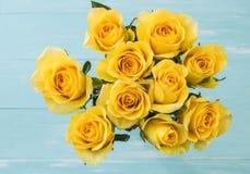 Yellow Rose Στοκ Φωτογραφίες