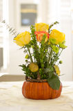 Yellow Rose Centerpiece Royalty Free Stock Image