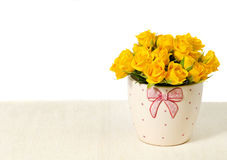 Yellow roses Stock Photo