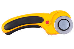 Yellow Rotary Cutter Stock Photography