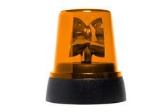 Yellow rotating beacon Stock Image
