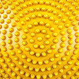 Yellow Round rubber. Royalty Free Stock Photo