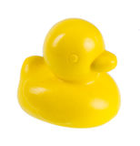 Yellow rubber duck Royalty Free Stock Photography