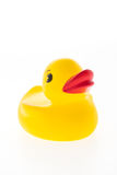 Yellow rubber duck toy Royalty Free Stock Photo