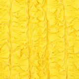 Yellow ruches background Stock Photo