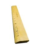 Yellow ruler Stock Image