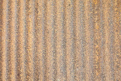 Yellow Rust on the zinc wall texture Royalty Free Stock Images