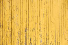Yellow rustic wooden plank texture of planked wall pattern stock images
