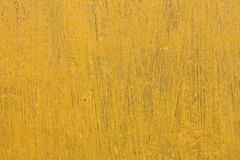 Yellow rustic yellow board Stock Photography