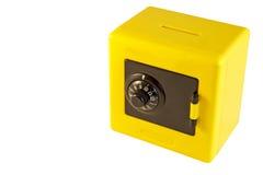 Yellow safe Royalty Free Stock Photos