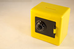 Yellow safe Stock Images