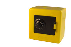Yellow safe Royalty Free Stock Photography