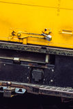 Yellow safe truck Royalty Free Stock Photo