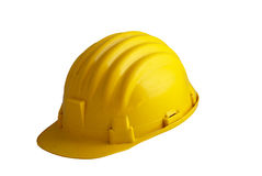 Yellow safety gear. A yellow safety-gear used in construction sites Royalty Free Stock Photography