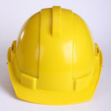 Yellow safety hat Royalty Free Stock Photos