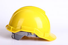 Yellow safety hat Royalty Free Stock Photography