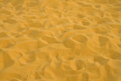 Yellow Sand Stock Image