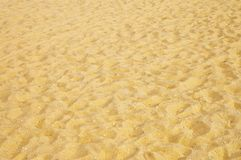 Yellow sand Royalty Free Stock Photo