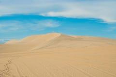 Yellow sand in the desert, Vietnam Royalty Free Stock Photos