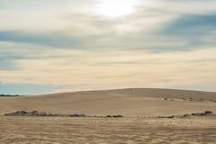 Yellow sand in the desert, Vietnam Stock Photo