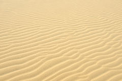 Yellow Sand. On the south of Vietnam Stock Image