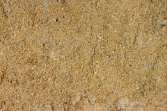 Yellow sand texture Royalty Free Stock Images