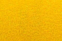 Yellow Sandpaper Texture Macro Royalty Free Stock Photography