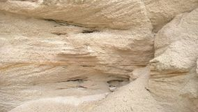Yellow sandstone canyon. In macro Royalty Free Stock Images