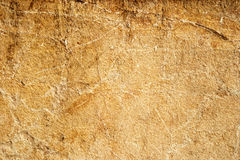 Yellow sandstone limestone wall texture Stock Images