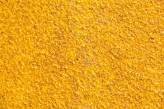 Yellow sandy texture Royalty Free Stock Images