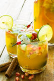 Yellow sangria Royalty Free Stock Images