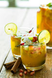 Yellow sangria Stock Photos