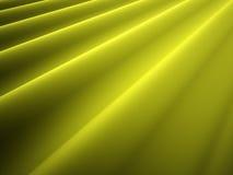 Yellow satin cloth Stock Images