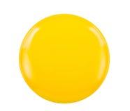 Yellow saucer Royalty Free Stock Photos