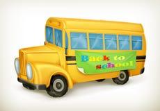 Yellow school bus Royalty Free Stock Image