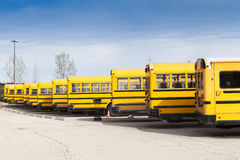Yellow School Bus Royalty Free Stock Photo