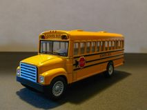 Yellow School Bus. Could be used for back to school or school bus awareness stock photography