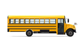 Yellow School Bus Stock Photo