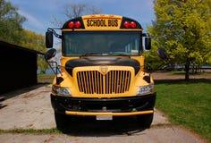 Yellow school bus Royalty Free Stock Photography