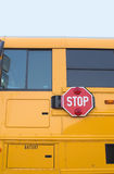 Yellow School Bus Sign Stock Photography