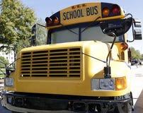 Yellow school bus Stock Photography