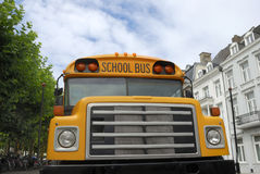 Yellow schoolbus Stock Image
