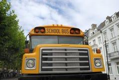 Yellow schoolbus Stock Image