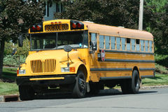 Yellow Schoolbus Royalty Free Stock Photo